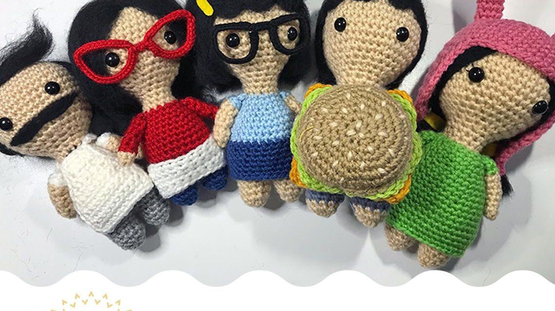 Celebrate Bob's Burgers in Knit and Crochet! Plus Bonus Cross Stitch …