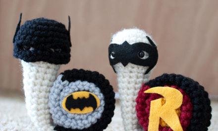 12 Knit & Crochet Projects Inspired by Batman