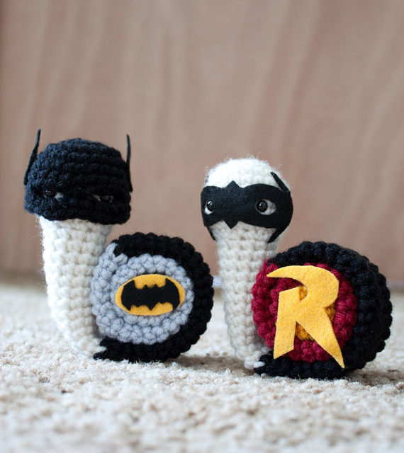 12 Knit & Crochet Projects Inspired by Batman