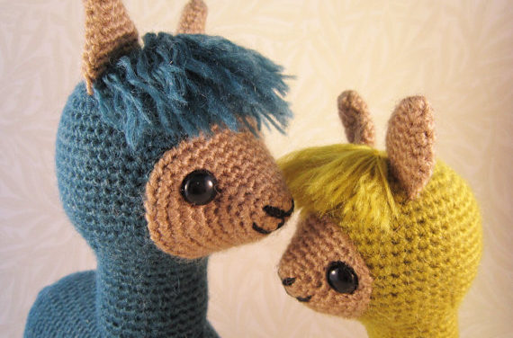 Think You Can Resist This Adorable Amigurumi Alpaca Family?