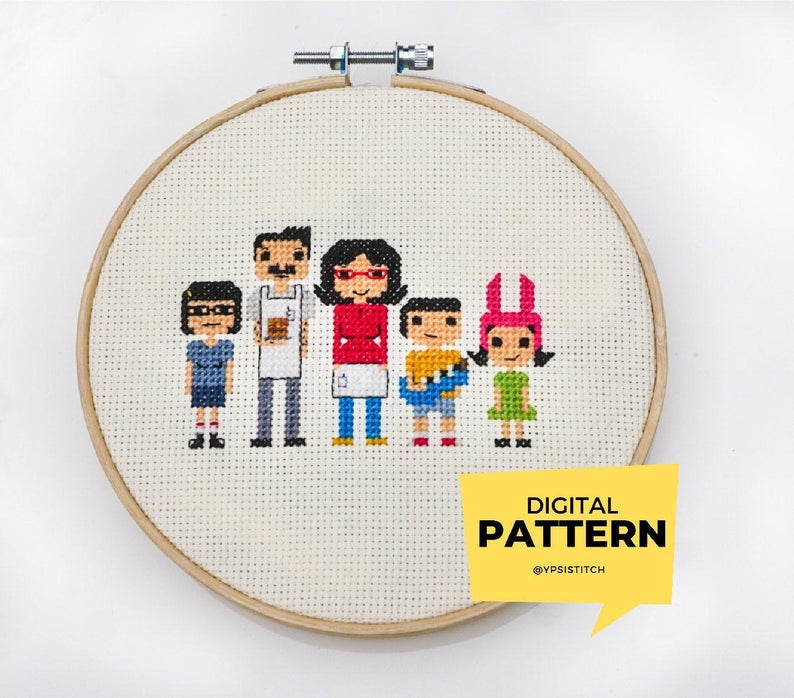 Celebrate Bob's Burgers in Knit and Crochet!