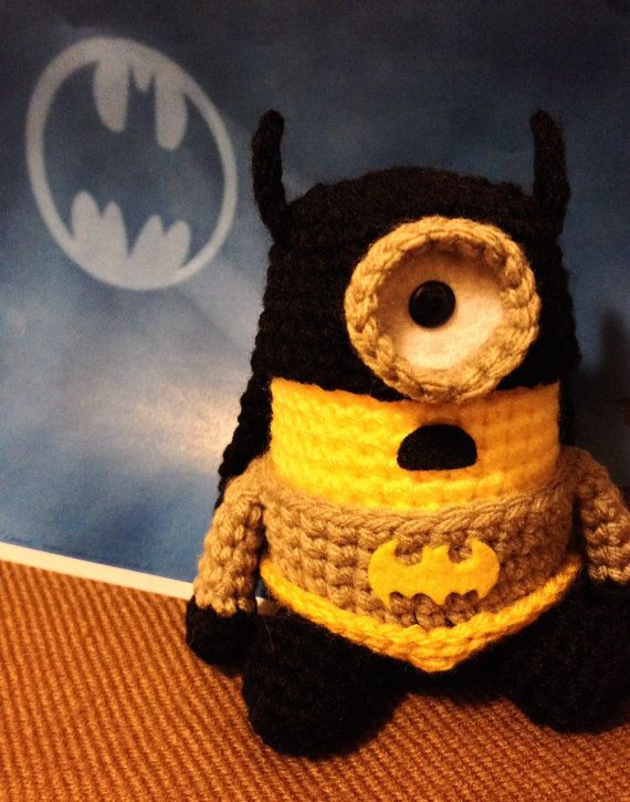 Batman Minion by JAMigurumi