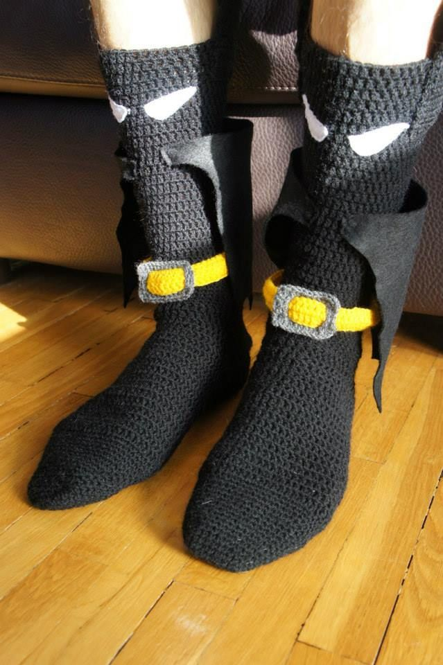 12 Knit Crochet Projects Inspired By Batman Knithacker