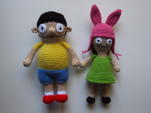 Gene and Louise Belcher
