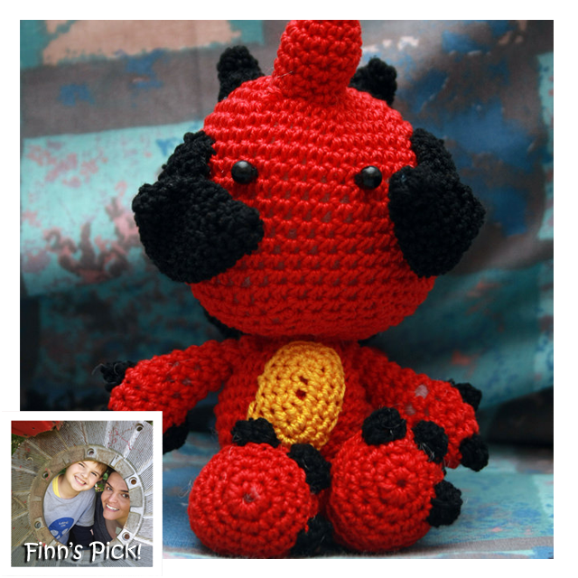 Finn's Pick: Blizzard's Diablo III Amigurumi by Deadcraft Designs