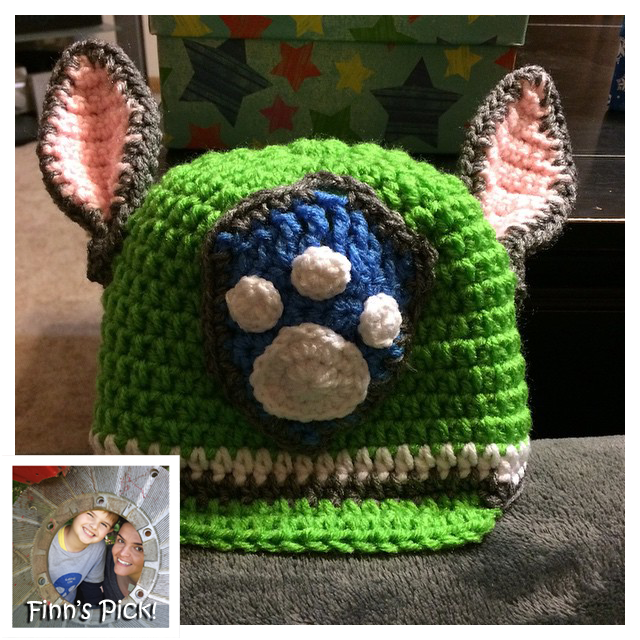 Finn's Pick: Paw Patrol Hat by Denise