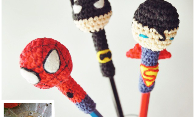 Finn's Pick: Superhero Pencil Covers!