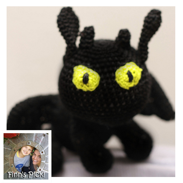 Finn's Pick: Crochet a Toothless Amigurumi from How to Train Your Dragon