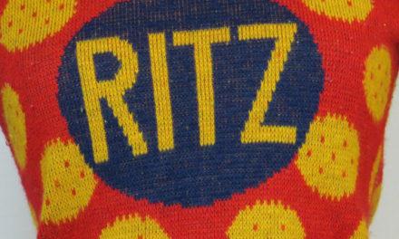 Vintage Ritz Cracker Sweater