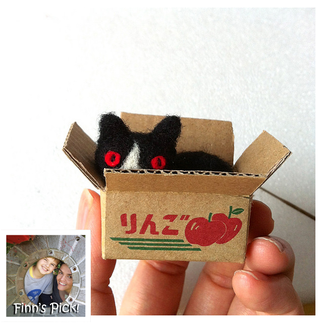 "Finn's Pick: Hiné Mizushima's ""Cat in a Box"""