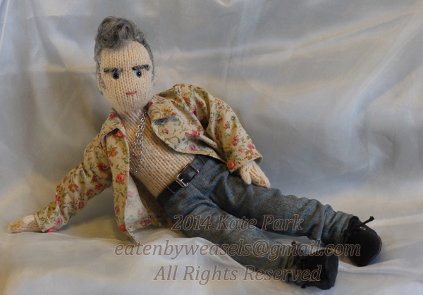 Stop Me If You Think You've Heard This One Before – Knitted Morrissey Dolls!
