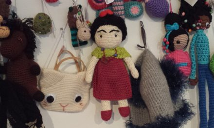 The First Annual World Amigurumi Exhibit at Resobox (2014)