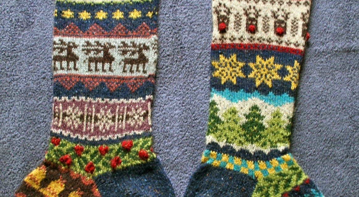 Helen WINS Christmas, Fair Isle Knitting, the Internet and My ...