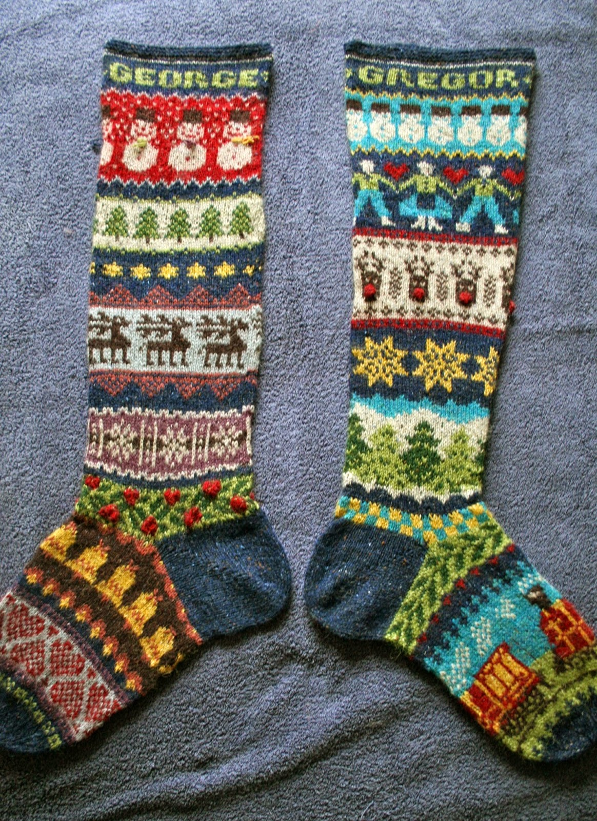 Helen WINS Christmas, Fair Isle Knitting, the Internet and My Heart ... Basically Everything.
