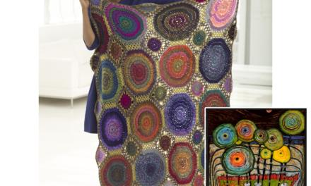 Discovering Hundertwasser in the Kaleidoscope Afghan