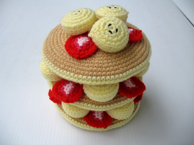 Pancake Day Is Coming! Of Course Crochet Flapjacks Count!
