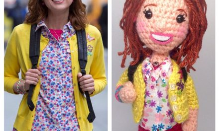 """Crafty is Cool's """"Unbreakable Kimmy Schmidt"""" – her shoes light up!"""