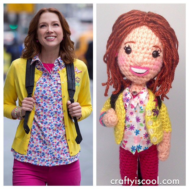 Crafty is Cool's 'Unbreakable Kimmy Schmidt' - Her Shoes Light Up!