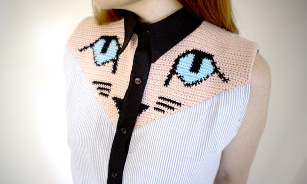 These Crochet Shirt Patches Are Genius – Great DIY Idea!