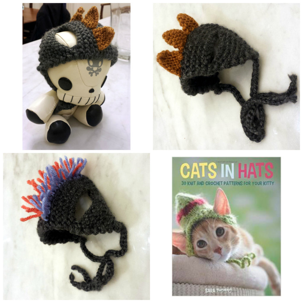 Knit Your Own Funky Cat Hats ... These HATS are the CAT's MEOW!