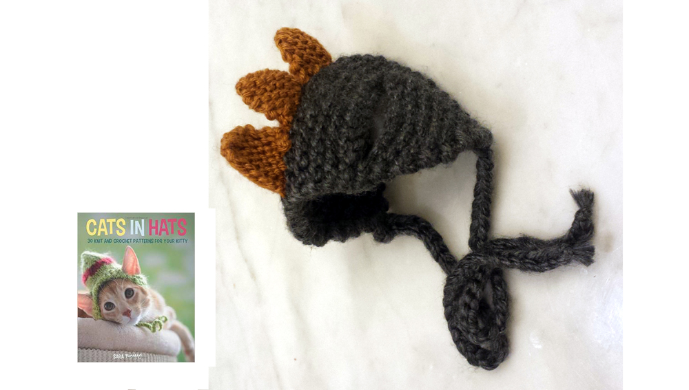 Knit Your Own Funky Cat Hats … These HATS are the CAT's MEOW!