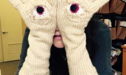 Pan's Labyrinth Gloves by Katie Freeman aka Knitrocious