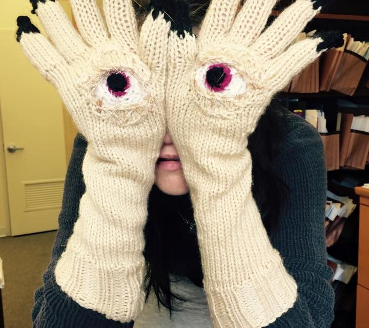 Pan's Labyrinth Gloves by Katie Freeman aka Knitrocious