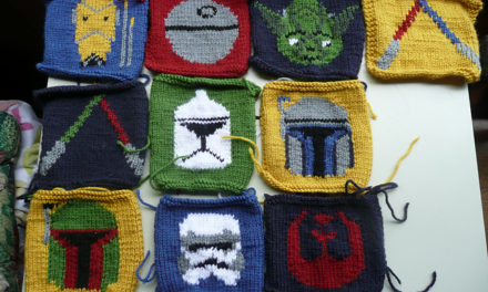 Happy #StarWars Day! May the Fourth Be With You When You Knit and Crochet … 30+ Projects!