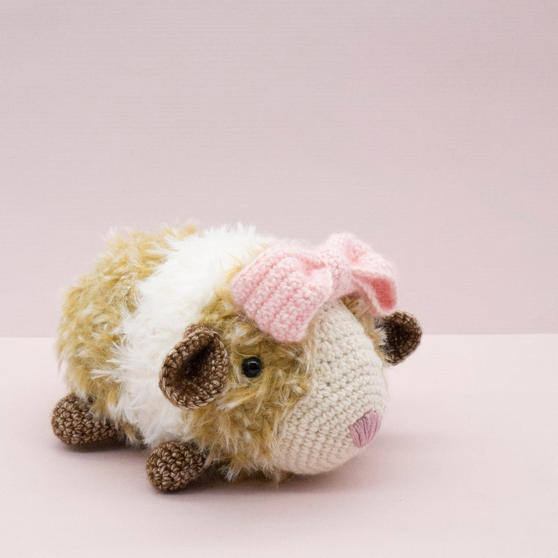 Knit & Crochet Guinea Piggy Patterns ... Finn Says Everyone Should Live Their Life The GUINEA PIG WAY!