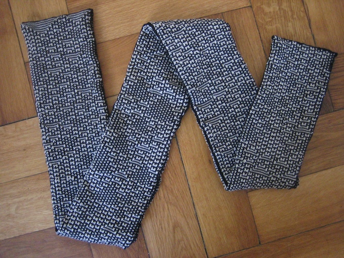 Support KnitYak and Get a Unique Mathematically Knit Scarf!