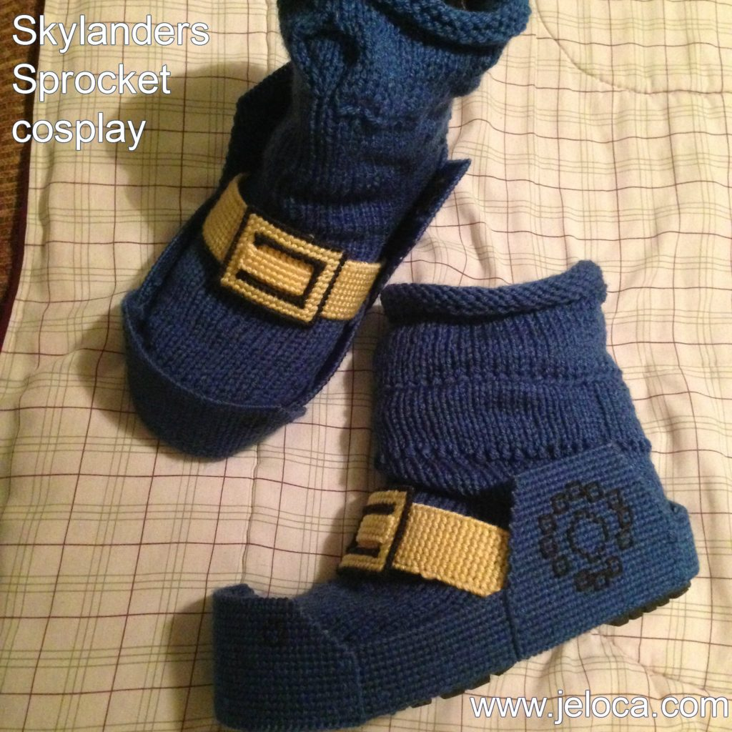 Skylanders Sprocket Cosplay Knit By Jennifer Lori