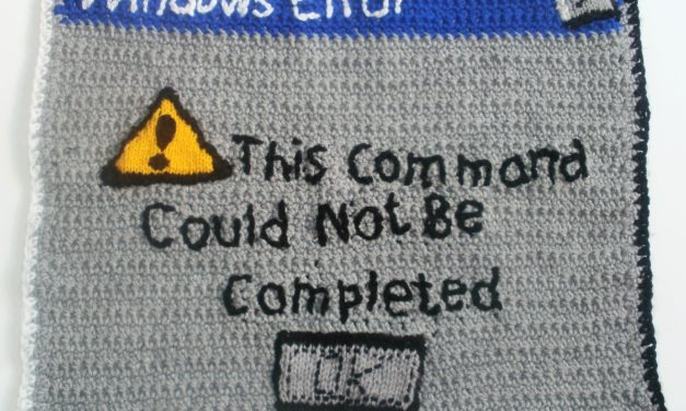 This command could not be completed … because Windows.
