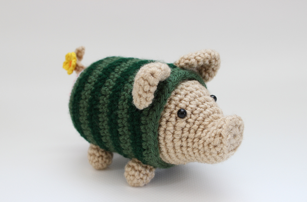 She Crocheted a Watermelon Poogie!