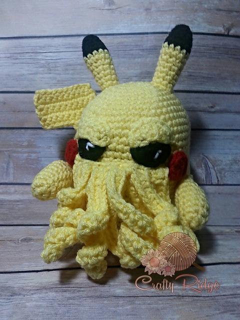 The Call of Pikathulhu - 4 Pikachu-Cthulhu Mash-Ups!