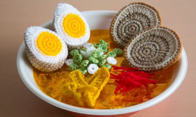 You've Never Seen Ramen Like This Before – It's Crocheted!