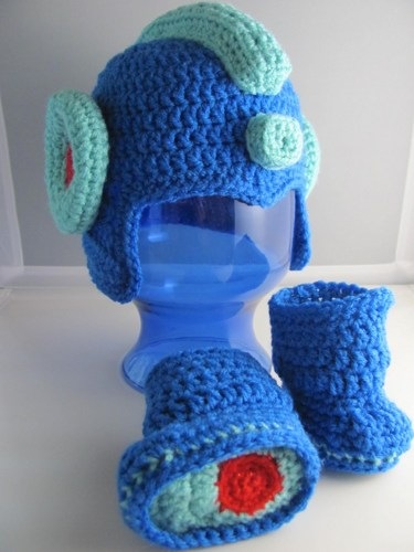 Sizzling circuits! 11 Mega Man-Inspired Projects Made in Knit ...