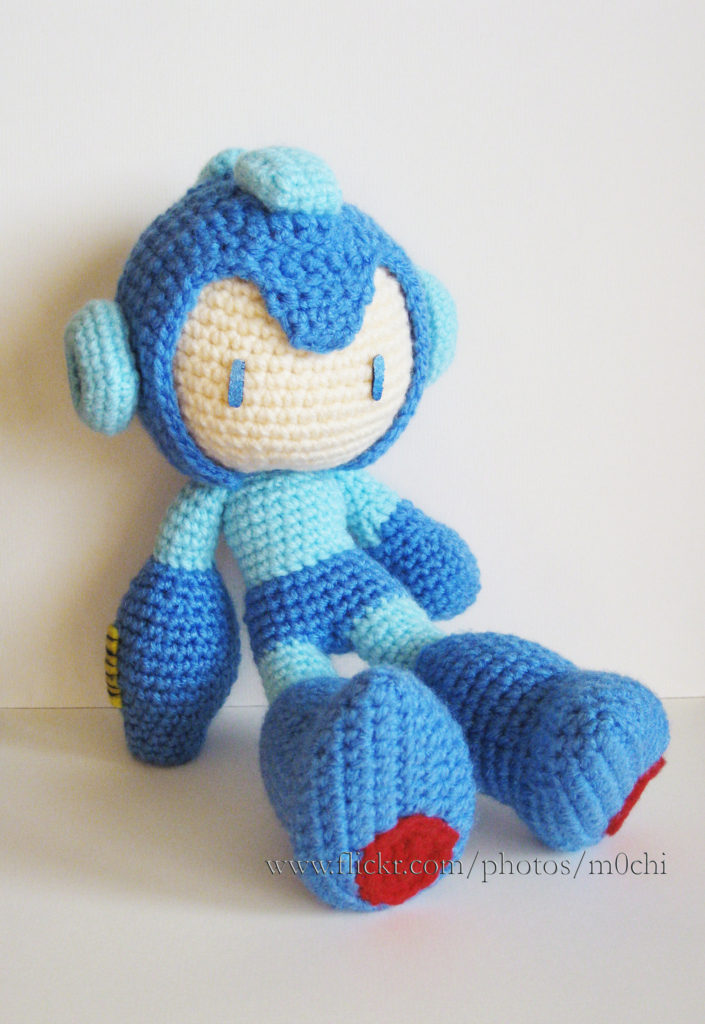 Sizzling Circuits! 11 Mega Man-Inspired Projects Made in Knit & Crochet