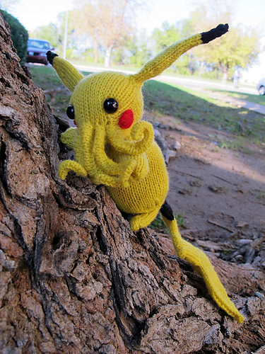 The Call of Pikathulhu – 3 Pikachu-Cthulhu Mash-Ups!