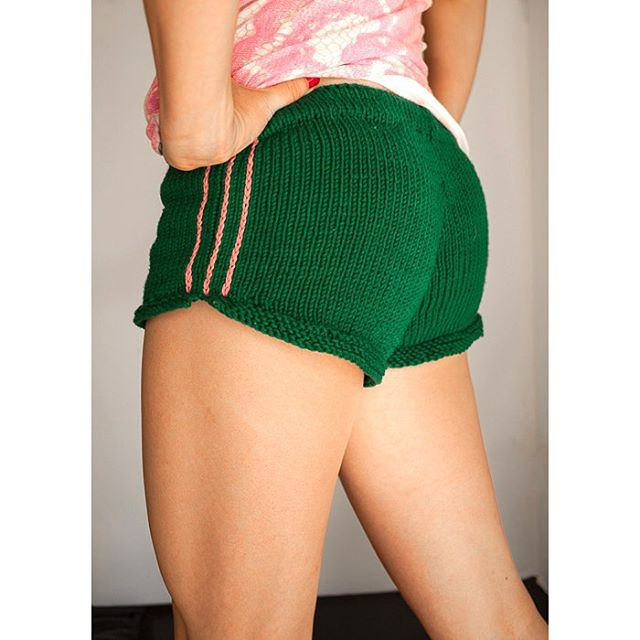 Hand-Knit Shorts That Are Actually Nice!