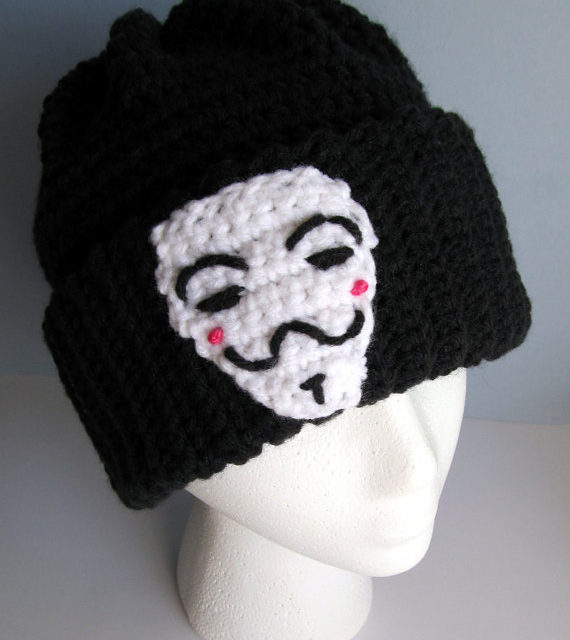 Remember, Remember, the 5th of November … Crochet Masks, Hats, Gloves and More … Inspired by Guy Fawkes