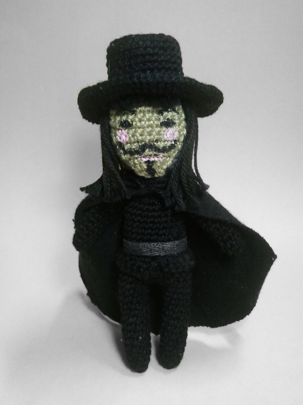 Remember, Remember, the 5th of November ... Crochet Masks, Hats, Gloves and More ... Inspired by Guy Fawkes