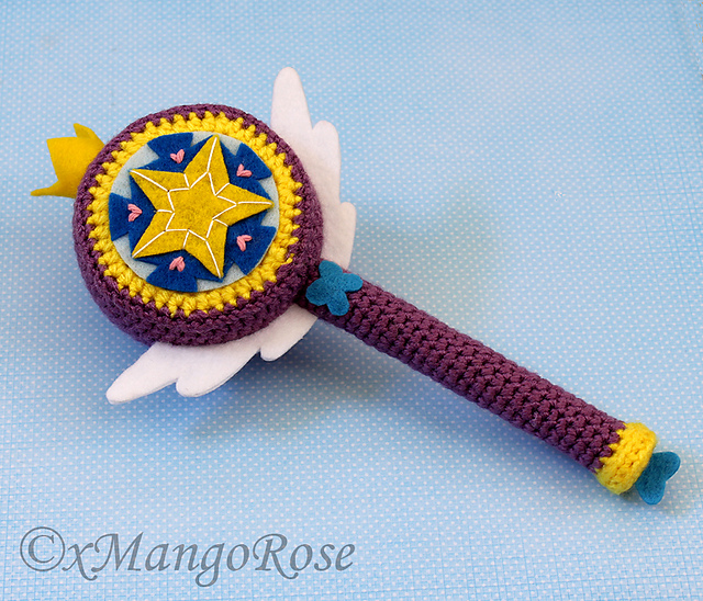 Royal Magic Wand (Star's Magic Wand) by Wendy Korz  - inspired by Disney's Star vs. the Forces of Evil show.