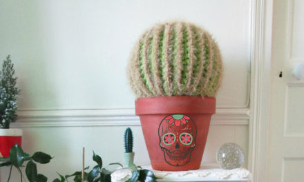 I'm a sucker for cowboy boots and this LED-lit crochet cactus!