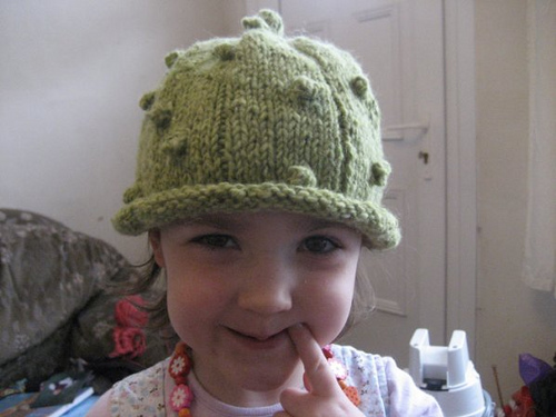 Children's Pickle Hat by Amy Taramasso