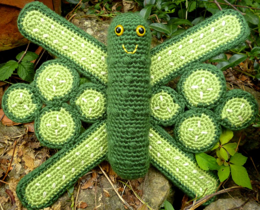 Hoefnagel The Bread and Butterfly Pickle Amigurumi by GeekGirl Crochet