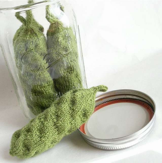 Can-Do Pickles by Velma Root  ... featured on KnitHacker in January 2014!