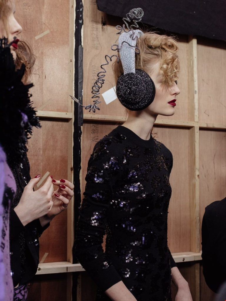 Sibling Wants To 'Give the World a Little Disco' ... and Funky Knitwear Inspired By Grace Jones!