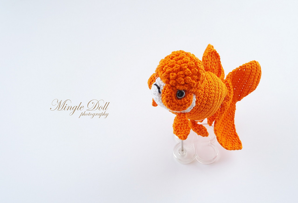 So Swish! Check Out This Oranda Goldfish Crocheted By Mingle Doll