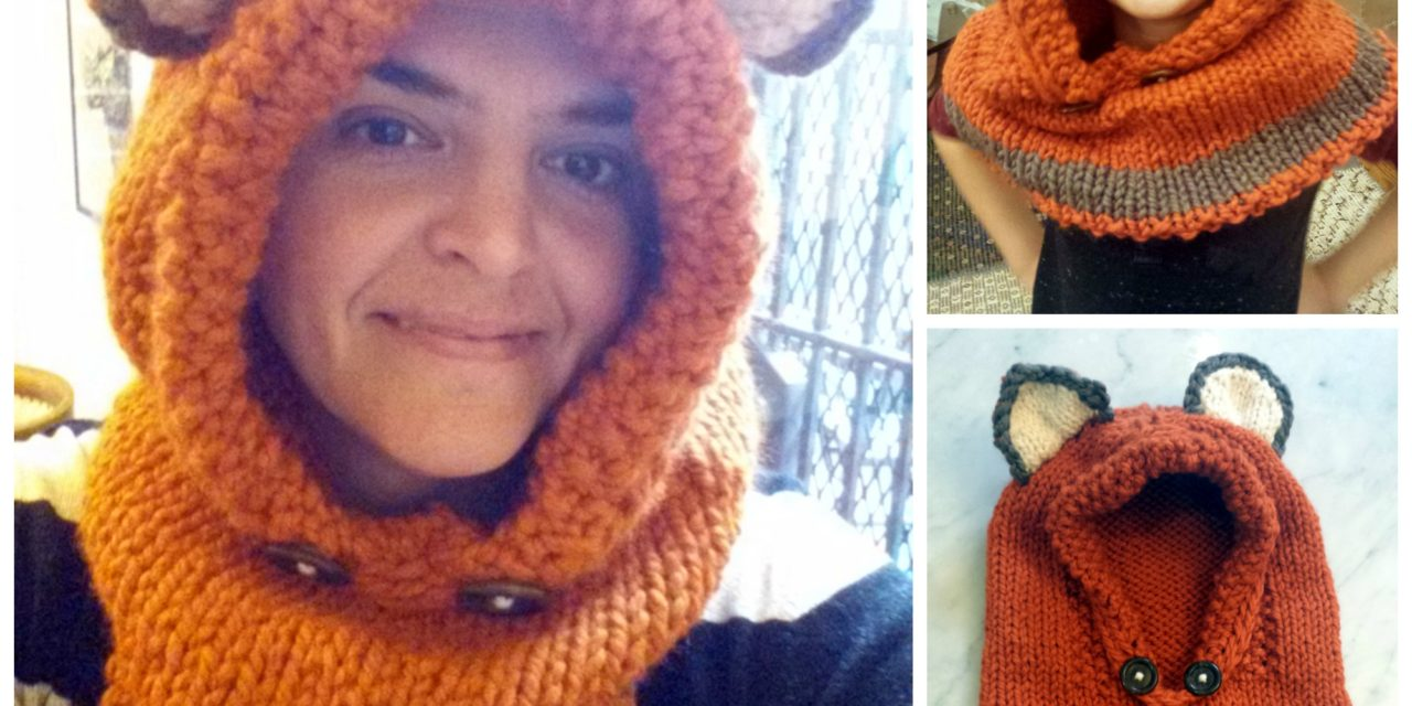 I Made a Failynn Fox Cowl and You CAN TOO … Get The Pattern in Knit OR Crochet!