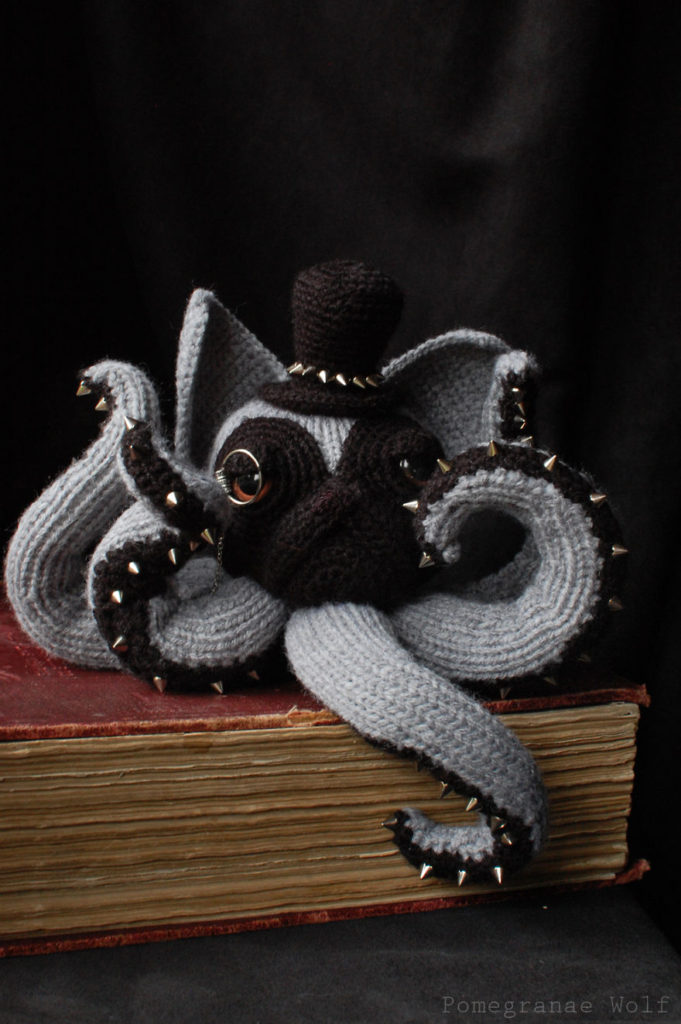 Crochet Octodog by Zane Uzklinge